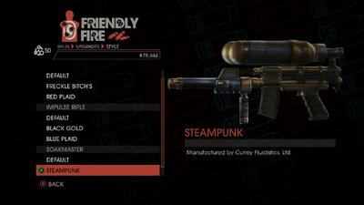 Weapon - Rifles - Burst Rifle - Soakmaster - Steampunk