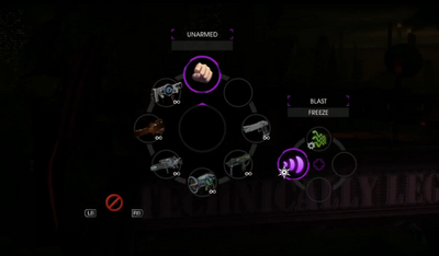 Radial Menu in Saints Row IV PAX Demo