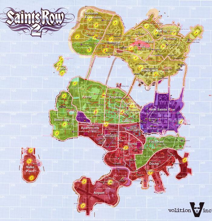Saints Row 2 Stilwater beta map