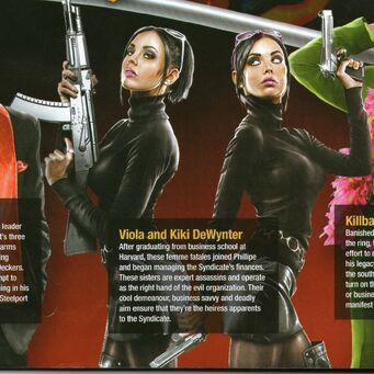 Viola and Kiki DeWynter