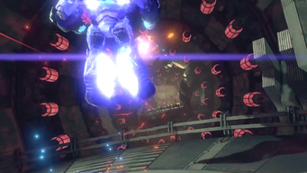 Saints Row IV Announce Teaser - mech can fly