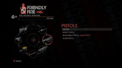 Weapon - Pistols - Menu