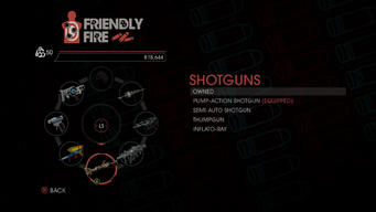 Weapon - Shotguns - Menu