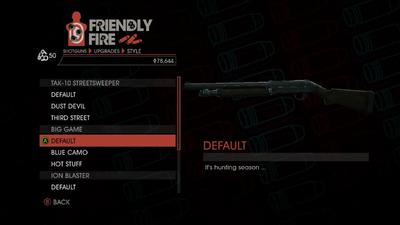 Weapon - Shotguns - Semi-Auto Shotgun - Big Game - Default