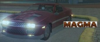 Magma - front left with lights and logo in Saints Row 2
