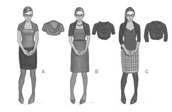 Kinzie Kensington Saints Row IV Concept Art - 3 outfits