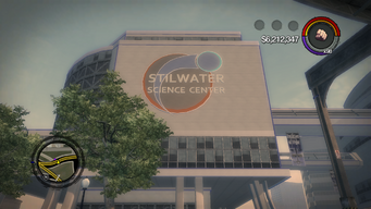 Stilwater Science Center in Saints Row 2 - Exterior Day