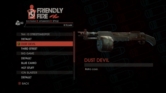 Weapon - Shotguns - Semi-Auto Shotgun - TAK-10 Streetsweeper - Dust Devil