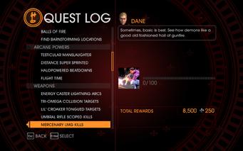 Gat out of Hell Challenge - Mercenary LMG Kills