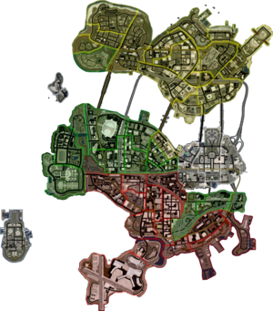 Stilwater map in Saints Row 2