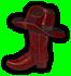 Saints Row 2 clothing logo - boot