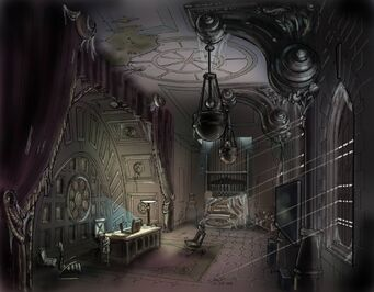 Saints Row Church - Julius' office Concept Art