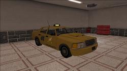Saints Row variants - Taxi - Chop Shop - front right