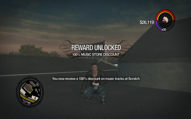File:100% Music Store Discount unlocked in Saints Row 2.png
