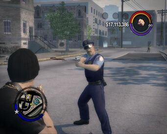 GDHC .50 used by Stilwater Police officer in Saints Row 2