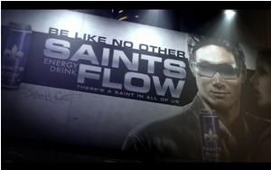 Saints Flow Energy Drink