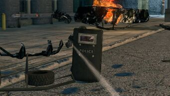 Police Specialist Riot Shield