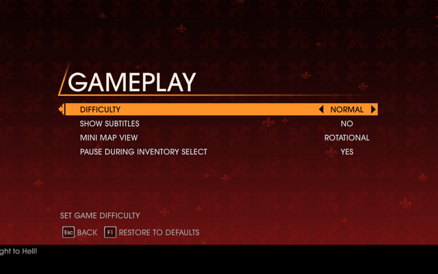 File:Saints Row Gat out of Hell - Main Menu - Options - Gameplay.png
