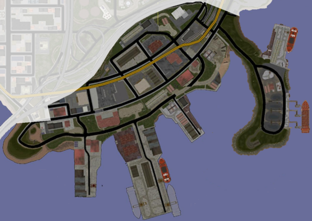 File:Docks & Warehouses map in Saints Row.png