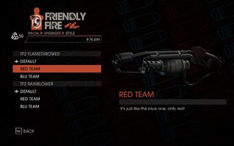 Weapon - Special - Incinerator - TF2 Flamethrower - Red Team