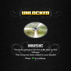 Saints Row unlockable - Music - Git Out of My Way
