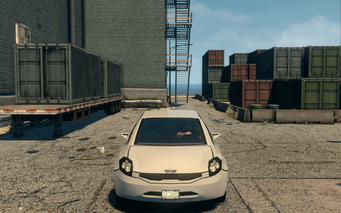Solar - front in Saints Row The Third