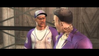 Pierce and Gat in Saints Row 2