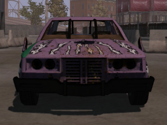 Rampage - front in Saints Row