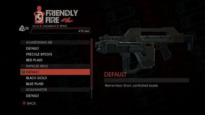 Weapon - Rifles - Burst Rifle - Impulse Rifle - Default
