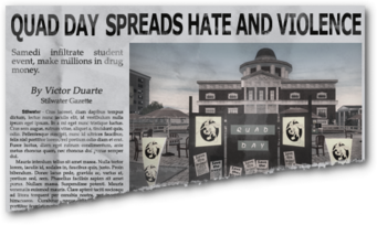 Newspaper sh ss student union Stilwater University Student Union