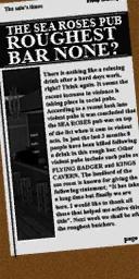Bar newspaper