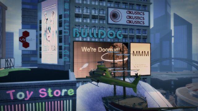 File:Bulldog logo on building in Downtown Stilwater.jpg