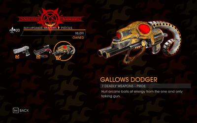 Gat out of Hell - 7 Deadly Weapons - Pride