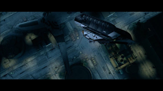 File:Air Steelport closing cutscene - crashed plane present before tank lands.png