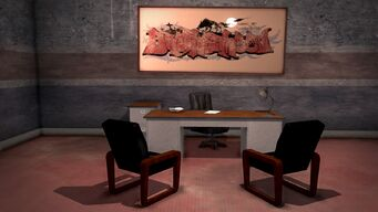 Donnie's - Interior in Saints Row 2 - office