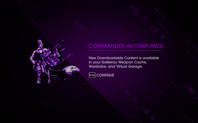 File:Saints Row IV DLC Unlock - Commander-in-Chief Pack.png