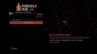 Weapon - Explosives - Tiny Pistol - Upgrades