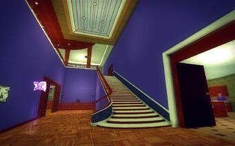 Saints Row Mega Condo - Pimp - bottom of stairs