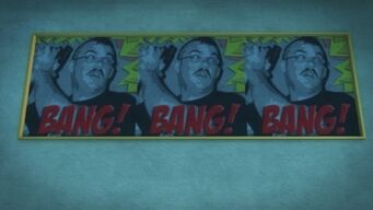 Developer offices - Bang Bang Bang sign