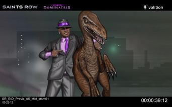 Escape the Dominatrix - Pierce and Velociraptor