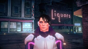 Matt Miller - Face as Super Powered Homie in Saints Row IV