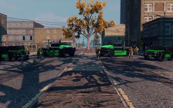 SRTT Roadblock - Luchadores level 3 - large