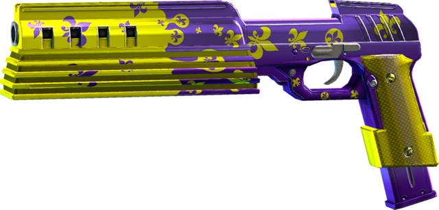 File:SRIV SMGs - Rapid-Fire SMG - Cyborg Pistol - Third Street Saints.png