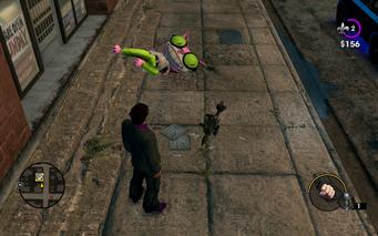 Genki dead with rocket launcher