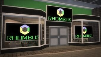 Rounds Square Shopping Center - Rhombus