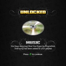 Saints Row unlockable - Music - Shut You Down
