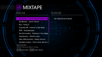The Mix 107.77 - Saints Row IV tracklist - top