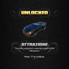 Saints Row unlockable - Vehicles - Attrazione