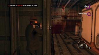 Air Steelport - Destroy Door with Sonic Boom objective