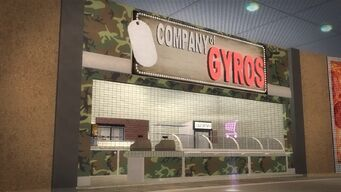 Company of Gyros in Rounds Square Shopping Center